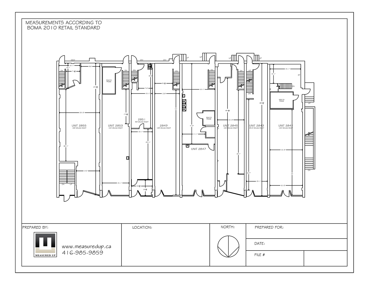 commercial space plan